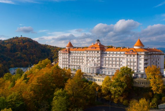 Five stars for the hotel Imperial in Karlovy Vary