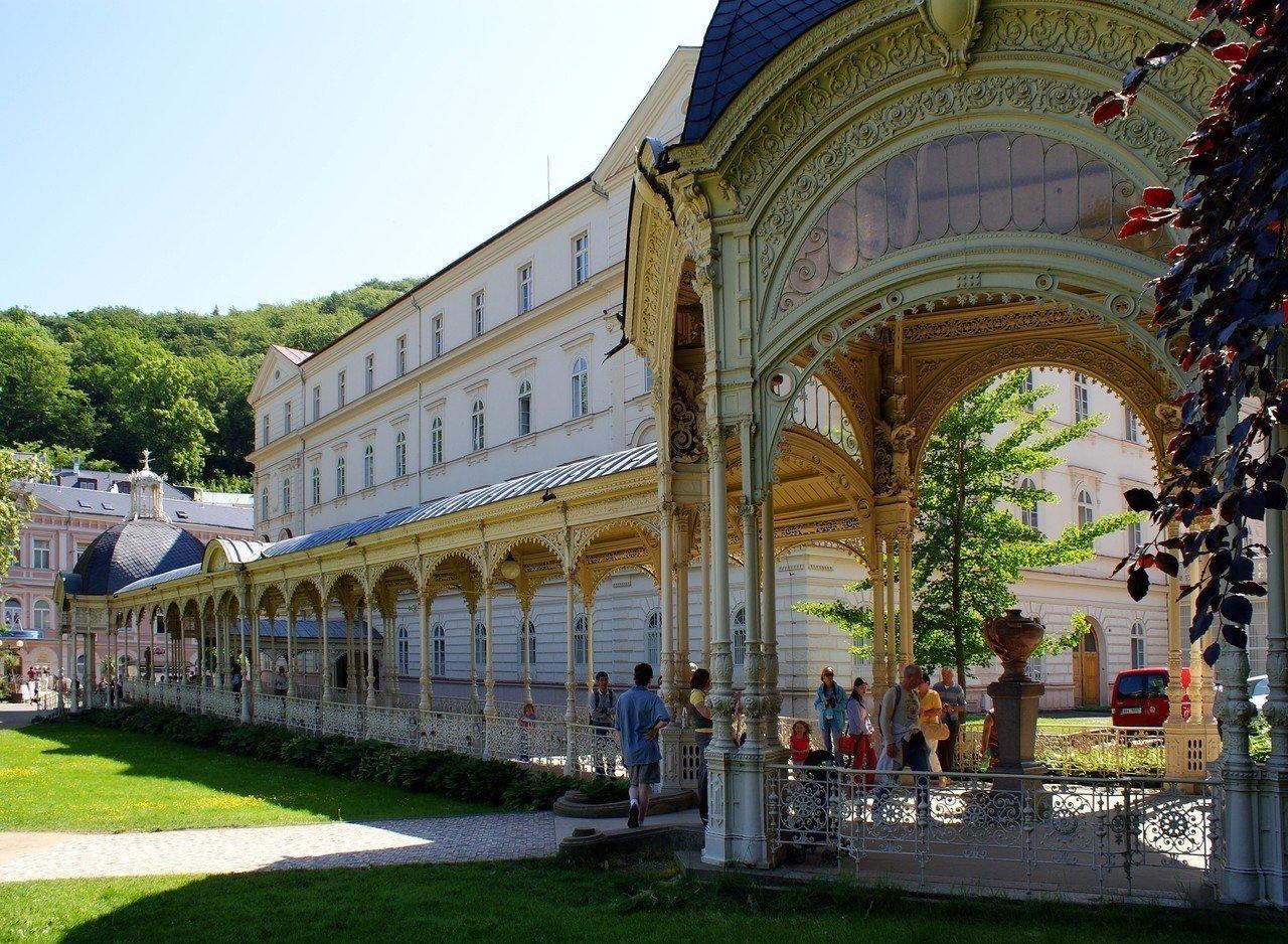 Zuilengalerij in Karlovy Vary