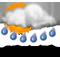 přeháňky, déšť